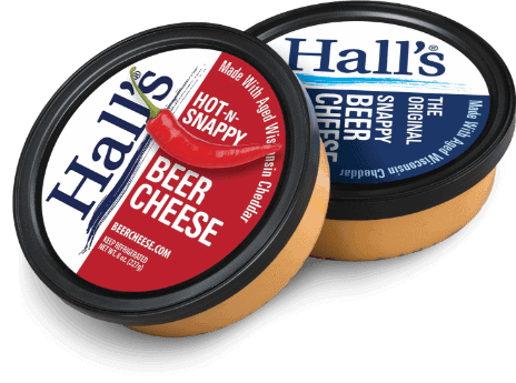 Hall's Beer Cheese Duo Sampler