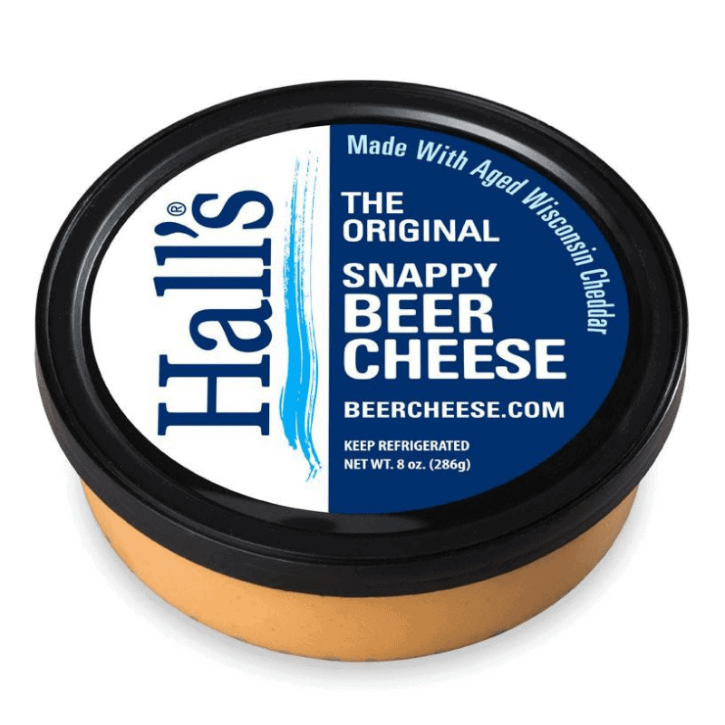 Hall's Original Snappy Beer Cheese
