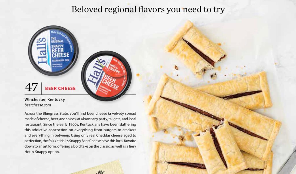 Hall's Beer Cheese named Best in the South for 2019.
