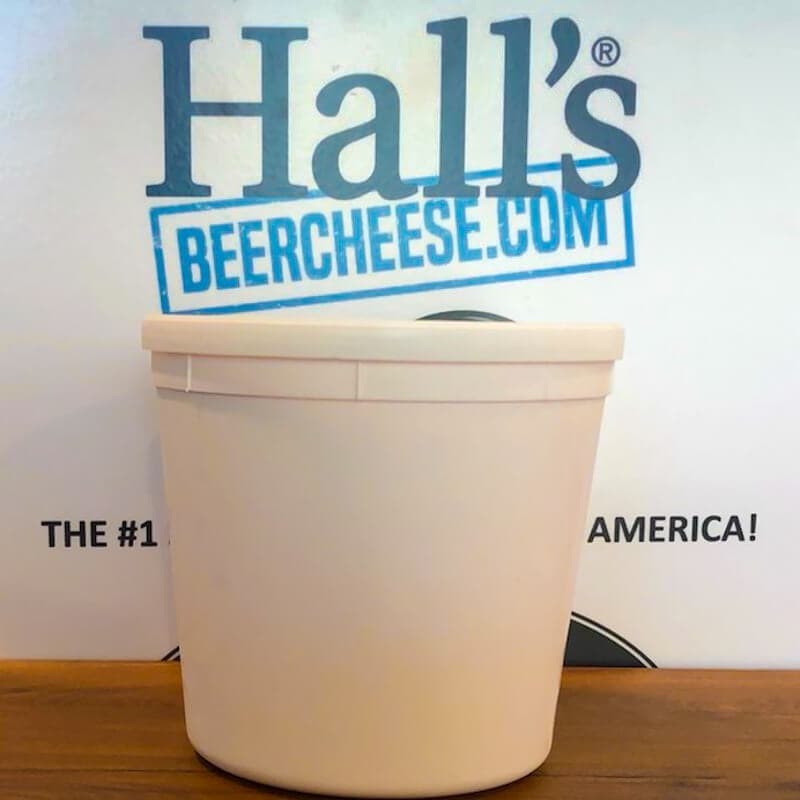 5lb tub of Hall's Beer Cheese