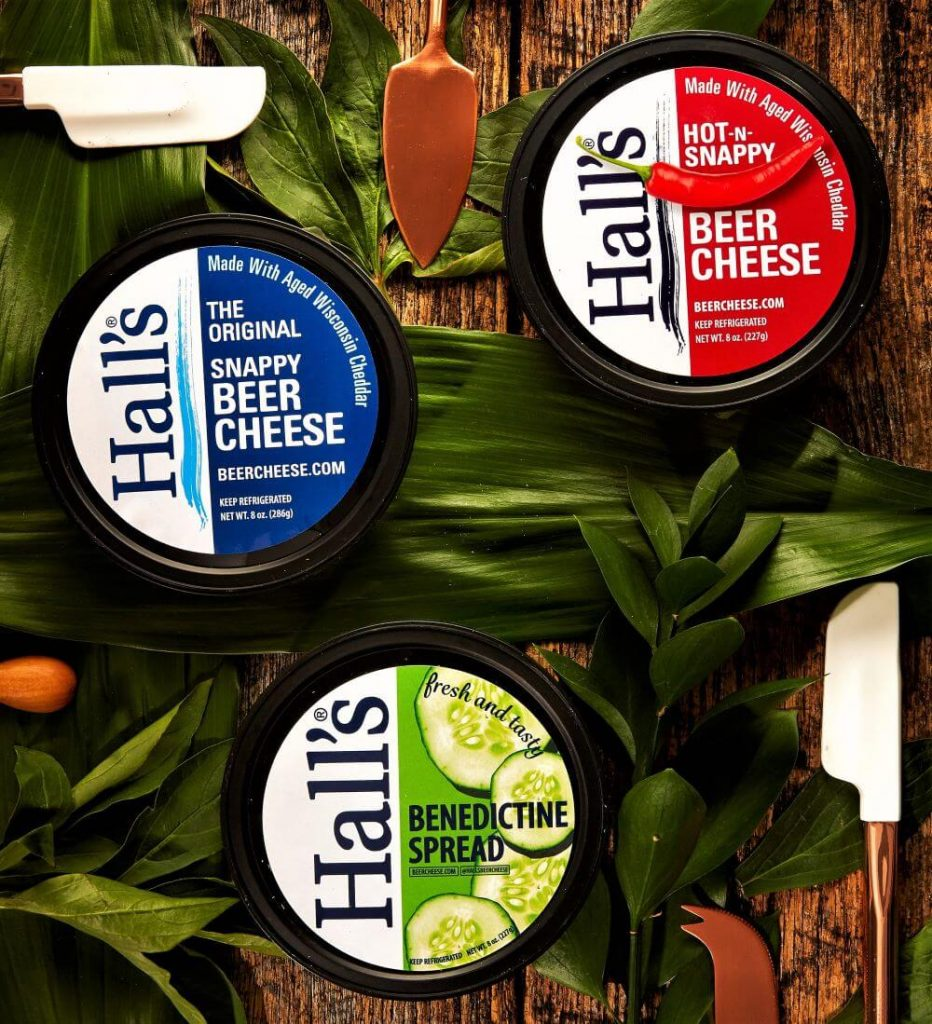 Hall's Beer Cheese Story